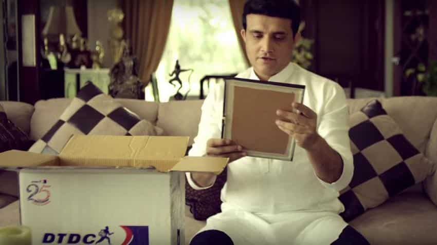 DTDC signs up Sourav Ganguly; launches ad campaign