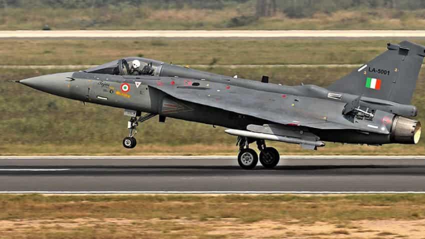 Tejas aircraft debuts at India's 68th Republic Day fly past