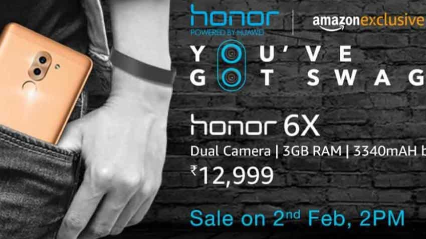 Amazon announces Honor 6X sale, 14GB free data on Airtel