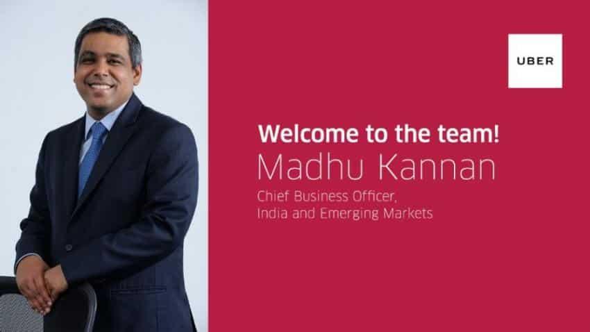 Tata Sons' Madhu Kannan joins Uber