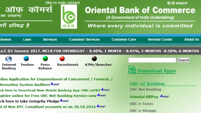 Oriental Bank of Commerce's net loss narrowed to Rs 130 crore in Q3