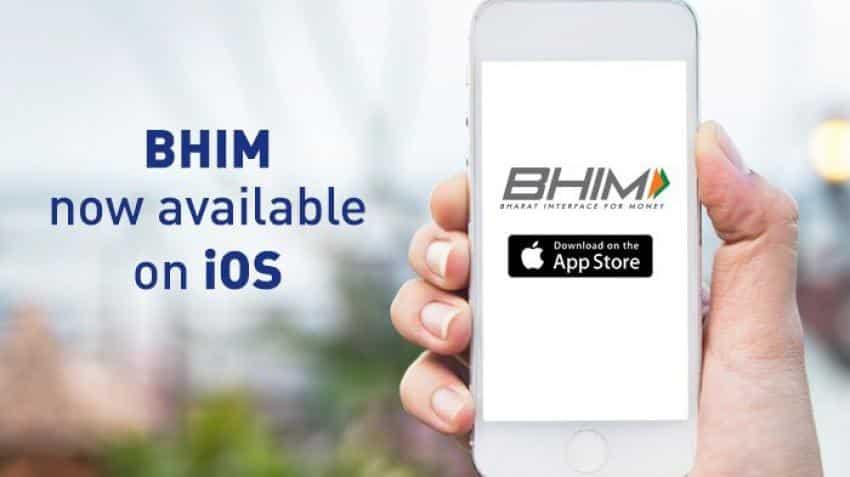 BHIM app now available on iOS platform