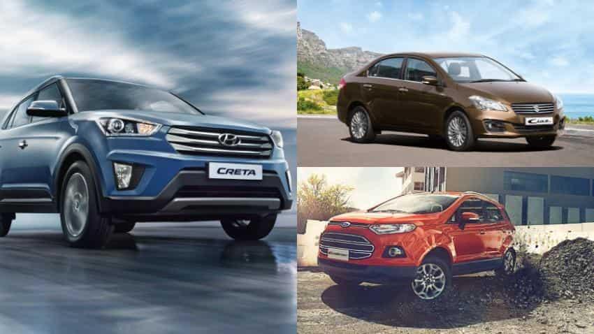 Ford EcoSport, Hyundai Creta, Maruti Ciaz drive sales in the Rs 8 to 10 lakh segment in January