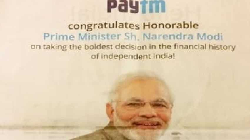 Vijay Shekhar justifies using PM Modi's picture to sell Paytm