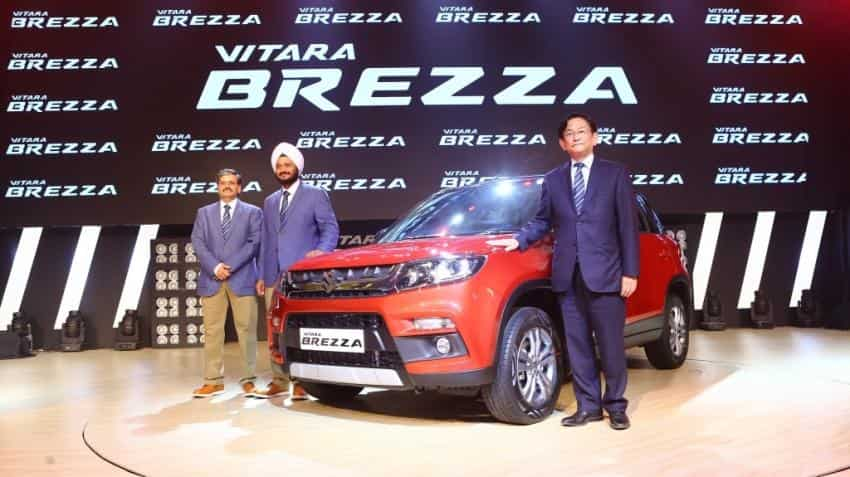 Maruti Suzuki sells over 100,000 Vitara Brezzas in a year