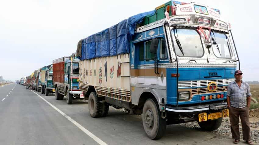 Commercial vehicle sales turns positive in February on pre-buying due to BS IV norms