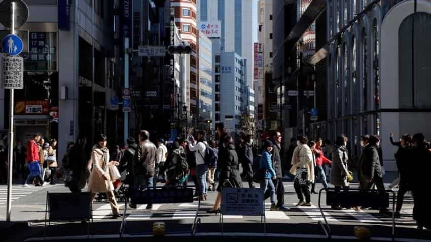 Japan's core inflation rises for 1st time in over a year