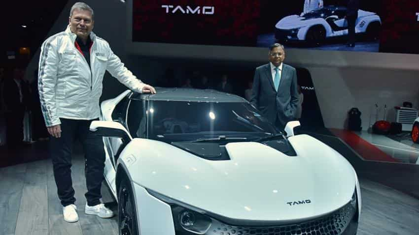 Tata Motors unveils its first two-door sports car Racemo at Geneva Motor Show