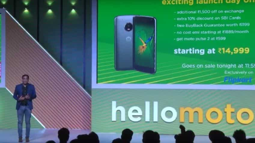 Moto G5 Plus launched in India for Rs 14,999; see specs and how to buy
