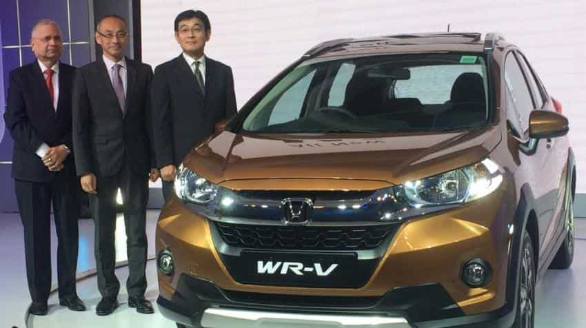 Honda Cars India launches crossover WR-V starting at Rs 7.75 lakh
