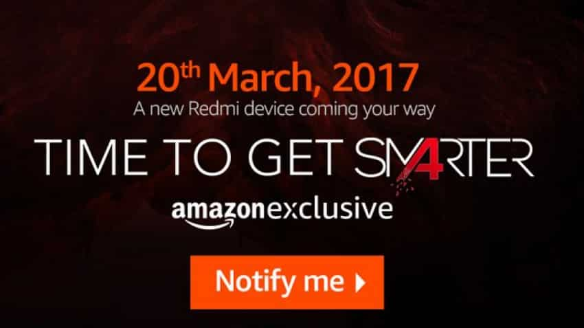 Xiaomi to launch Redmi 4A on Amazon India today; here's how you can buy it