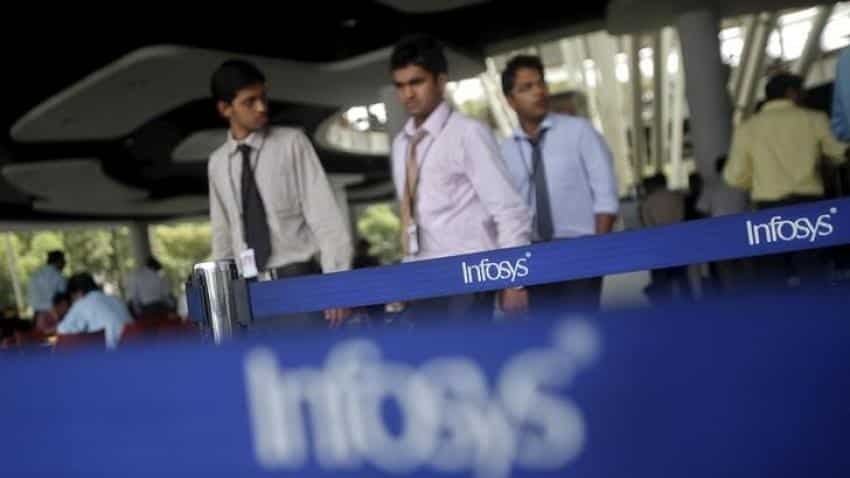 Tougher US regulations make Infosys not to apply for H-1B visas for junior-level employees; stock down nearly 2% in early trade