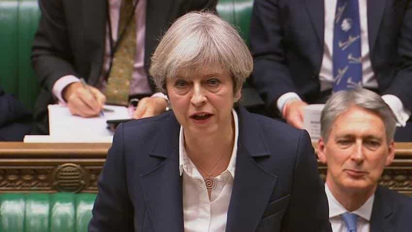 'No turning back' - PM May triggers 'historic' Brexit