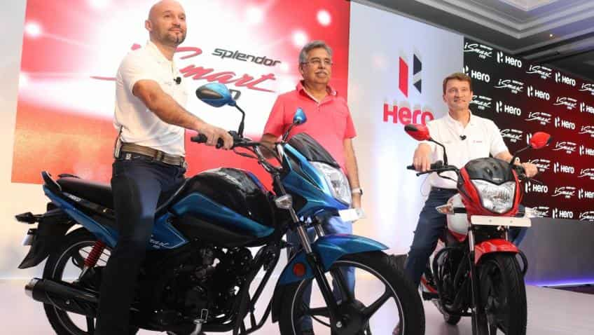 Despite five months of best ever sales, Hero MotoCorp sold only 31,600 more bikes last year