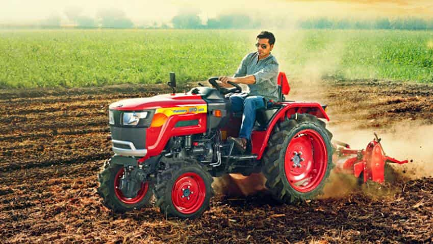 Mahindra Launches Small Tractor Jivo Priced At Rs 390 Lakh