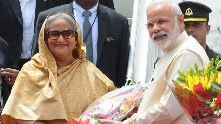 PM Modi holds talks with Bangladesh PM Sheikh Hasina today
