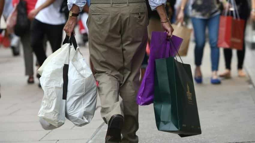 UK consumer spending grows at slowest rate in three years