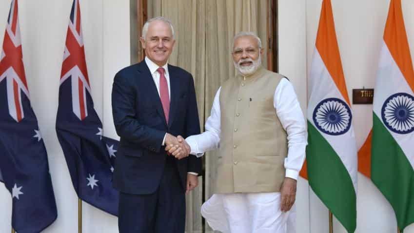 Australia PM Turnbull puts free trade deal with India on backburner