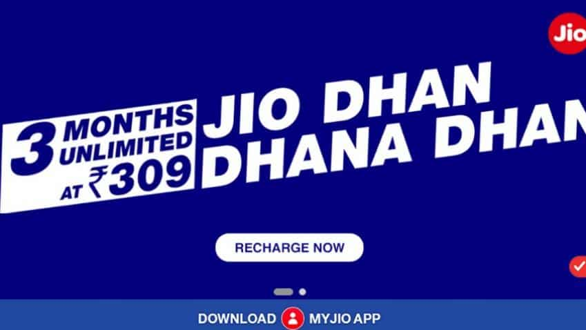 Reliance Jio rolls out Dhan Dhana Dhan; offers unlimited data for three months