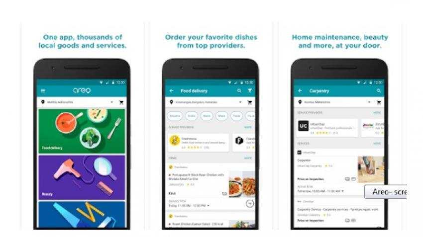 Now, Freshmenu, Box8, Faasos, UrbanClap all in one app Google Areo