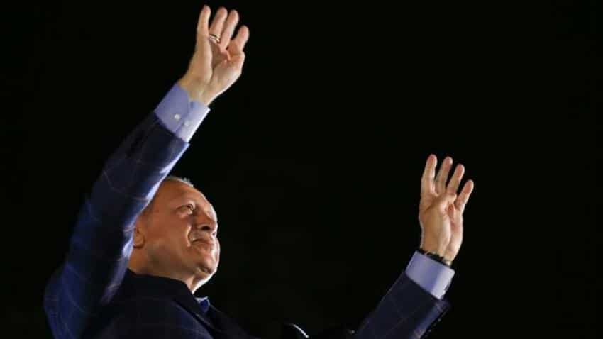Turkey's Erdogan declares victory in referendum to grant him sweeping powers