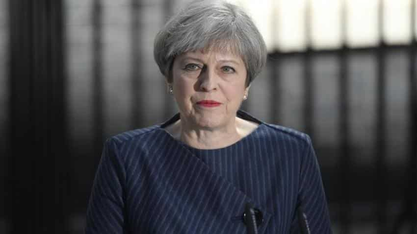 British PM May calls for an early election to strengthen Brexit hand