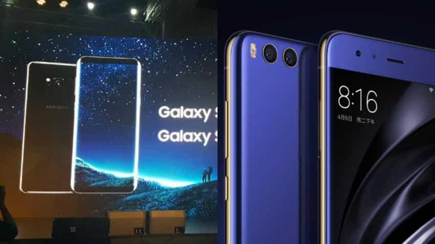 Samsung Galaxy S8 vs Xiaomi Mi 6: similar specifications, vast price difference