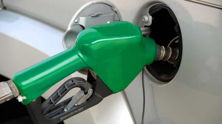 Petrol hiked by 1 paisa a litre, diesel by 44 paise