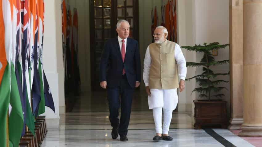 PM Modi conveys concerns to Australia PM Turnbull over visa issue