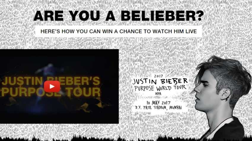 Jio Beliebers: How Justin Bieber fans try to win free tickets to watch him live