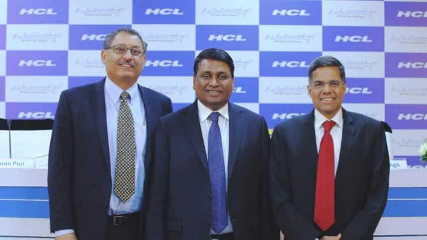 HCL Tech's Q4FY17 net profit rises by 28%; revises guidance