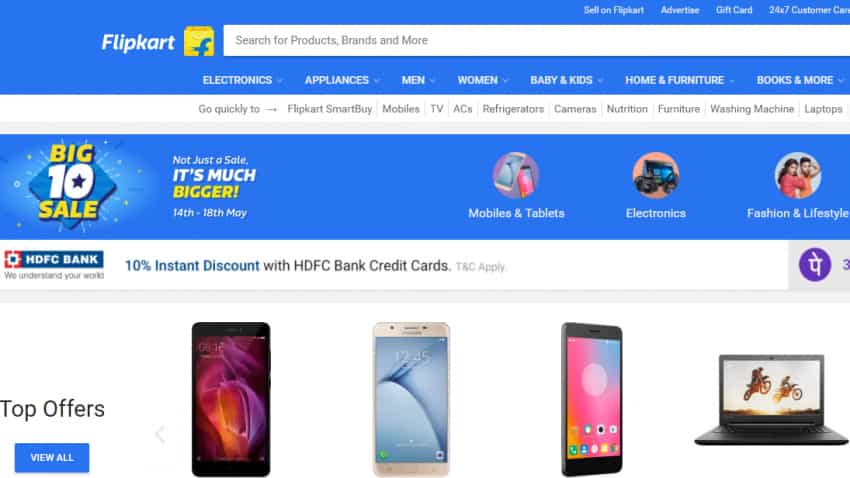 Big 10 Sale Day 2: Here are top 10 offers on Flipkart