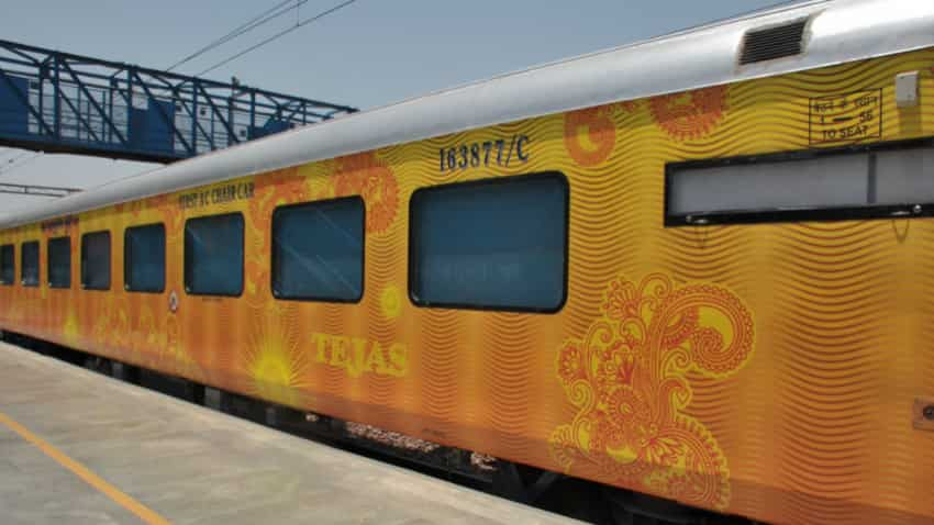 Fares of Tejas Express train to be 20% more than Shatabdi