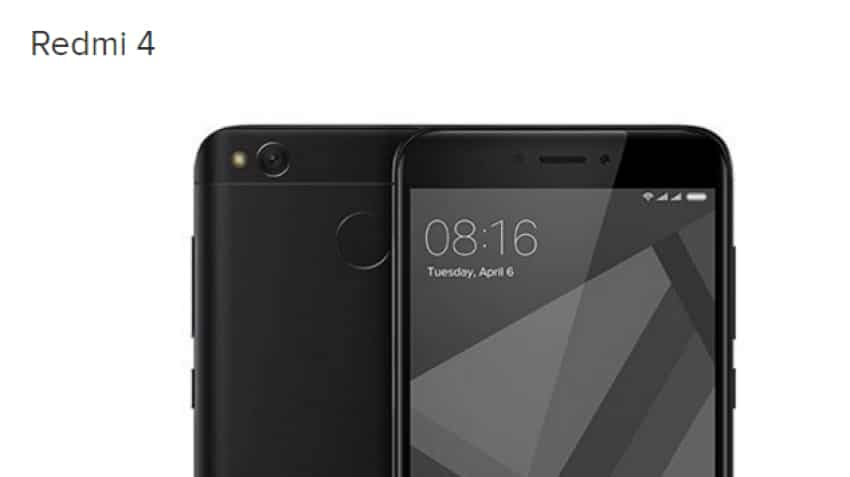 Redmi 4 to go on sale for first time on May 23; here's pricing, specs & more