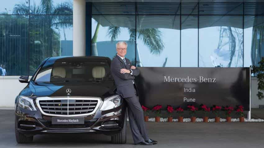 Mercedes-Benz cuts car prices by an average of 4% to pass on GST benefit to customers