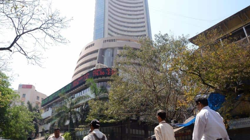 Sensex, Nifty trade lower in morning session
