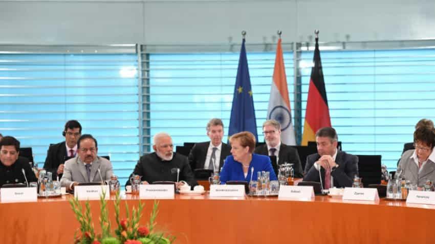 Here are 10 key things PM Narendra Modi said during press meet with German Chancellor Angela Merkel