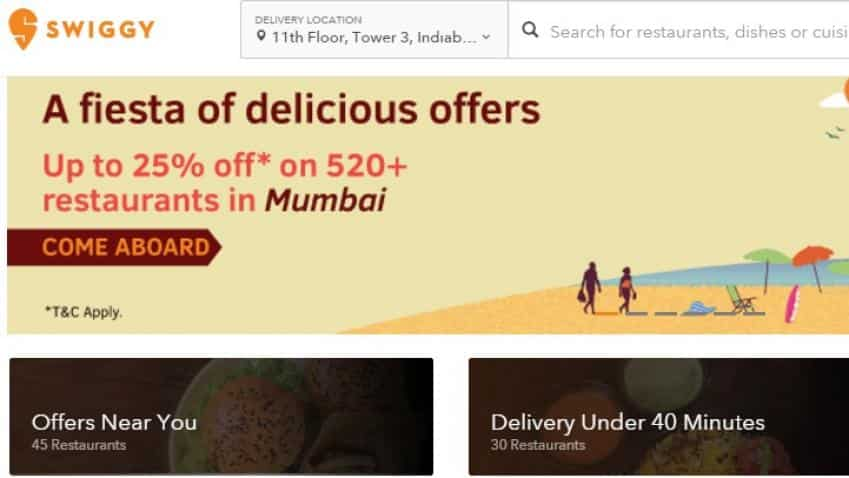 Swiggy raises over Rs 517 crore from Naspers, existing investors