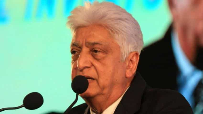 Wipro chief Premji's salary drops 63% to $1,21,853 in FY17