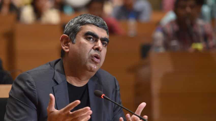 $20 billion revenue target by 2020 looks difficult, says Infosys CEO Vishal Sikka