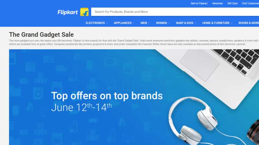 The Grand Gadget Sale: Here are top 10 offers on laptops, cameras, others from Flipkart