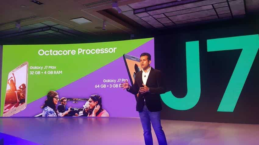 Samsung unveils Galaxy J7 Pro, J7 Max in Indian market