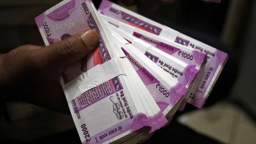 Rupee jumps 5 paise against dollar to 64.25