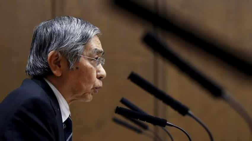 BOJ holds policy steady; upgrades view on global growth