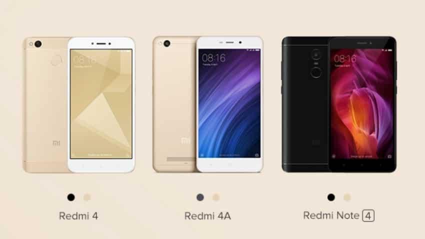 Xiaomi Redmi 4, Redmi Note 4 & Redmi 4A to go on sale on Mi.com at 12 pm today