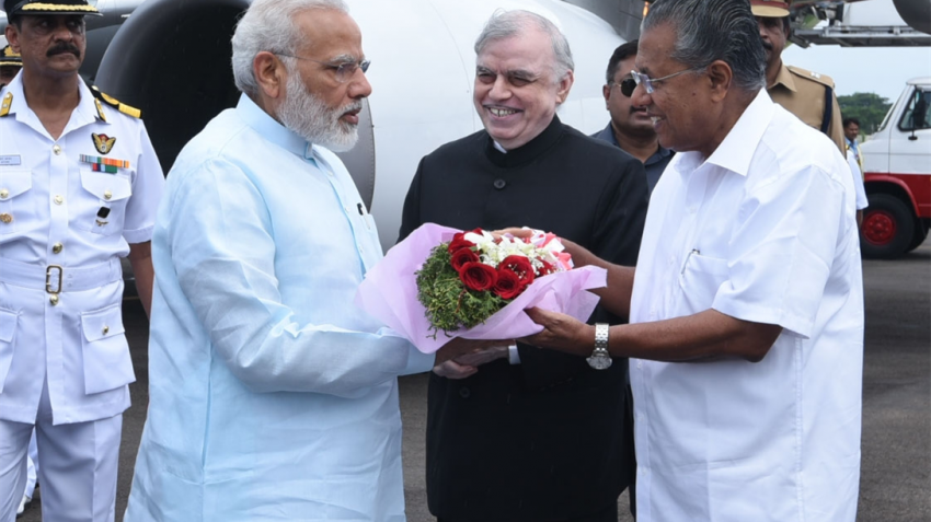 PM Narendra Modi inaugurates Kochi Metro