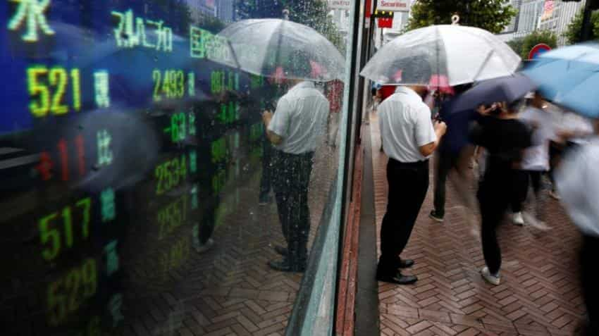 Asia stocks shake off Wall Street blues, sterling steady before Brexit talks