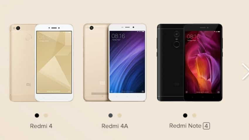 Here's how you can pre-order Xiaomi Redmi 4, Redmi 4A & Redmi Note 4 today