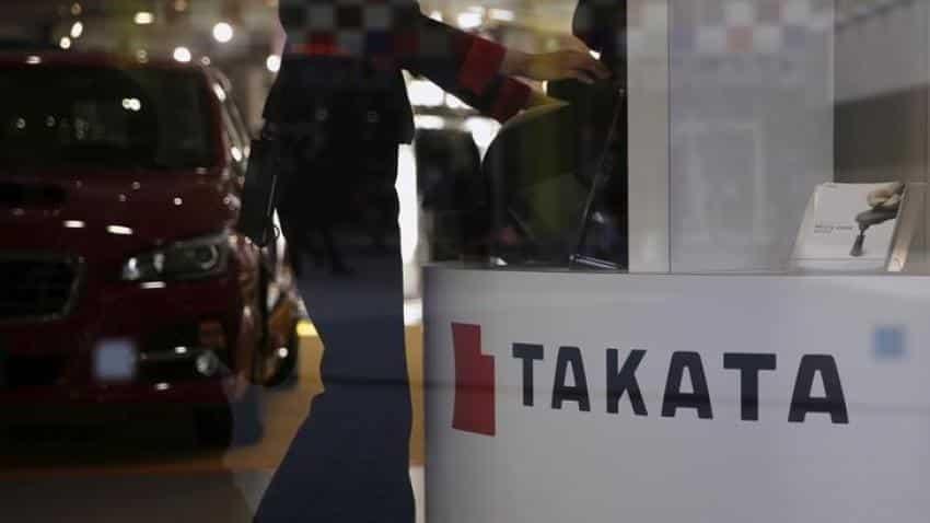 Japanese airbag maker Takata files for bankruptcy, gets US sponsor
