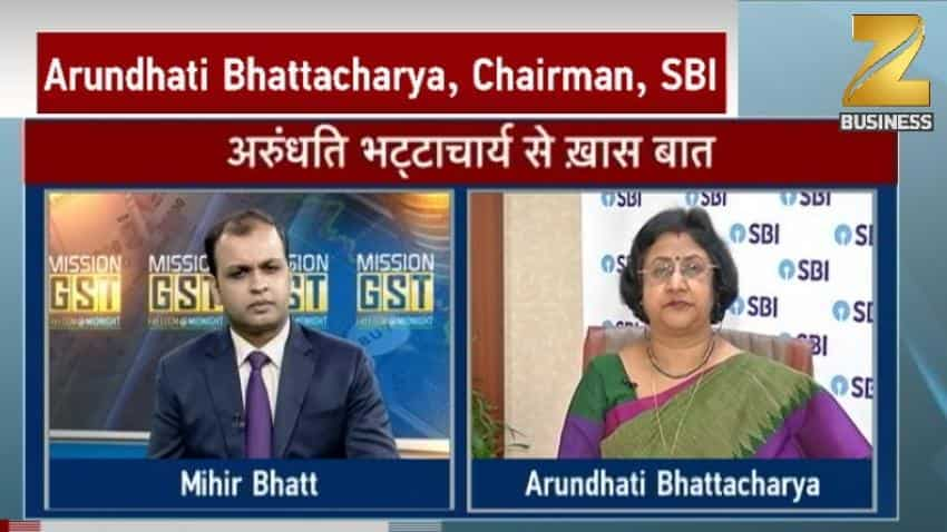 SBI is ready for GST, Arundhati Bhattacharya says